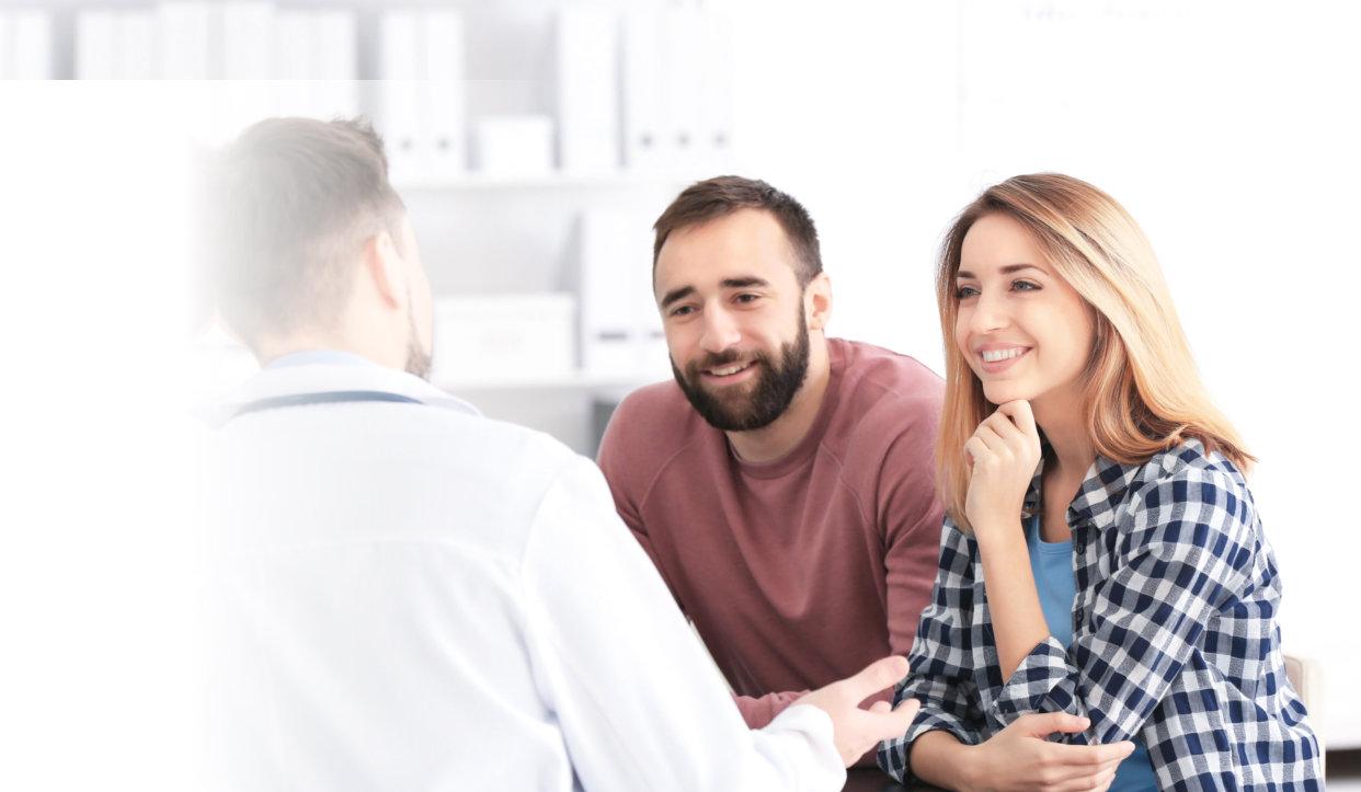 Couple having a consultation